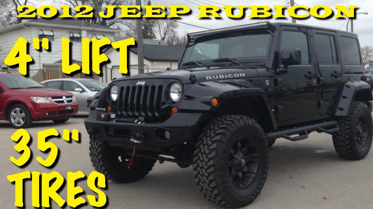lifted 2012 jeep wrangler rubicon winnipeg mb custom leather nav lift youtube. Black Bedroom Furniture Sets. Home Design Ideas
