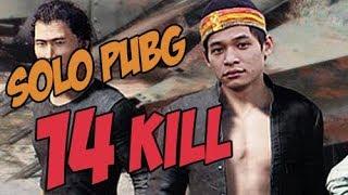 Không TOP 1 thì xóa mẹ game đi - Ăn rùa được phát 14 kills Solo PUBG