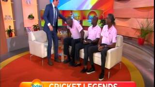 Today Show Interview with Sir Viv, Michael Holding and Joel Garner