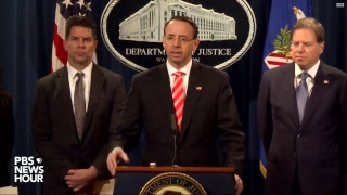 WATCH: Justice Dept. announces charges in Iran-sponsored hacking scheme