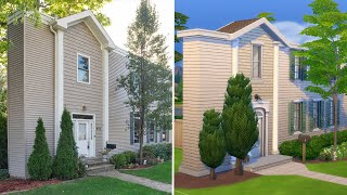 """I tried to build the """"Skinny House"""" in The Sims 4"""
