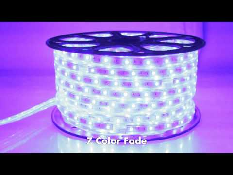 RGB 120V LED Strip Light Deluxe Controller Movie