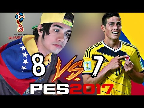VENEZUELA vs COLOMBIA eliminatorias RUSIA 2018