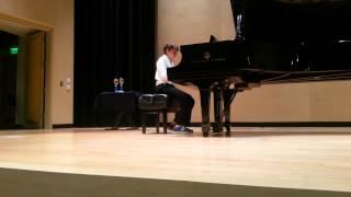 Folsom Piano Academy Spring Recital   Zachary   May 14, 2013