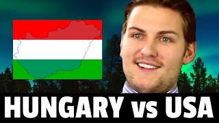 Living in HUNGARY vs USA | Hungarian Culture SHOCKS, Lifestyle, Foods, etc