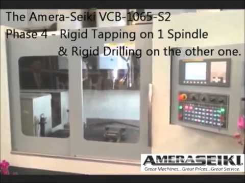 Amera-Seiki Verticle Closed Bridge Mill Demo