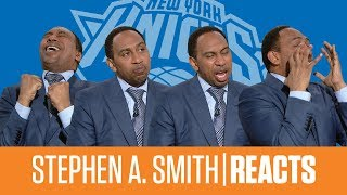 Stephen A. goes from hopeful to heartbroken after the Knicks miss out on landing Zion Williamson
