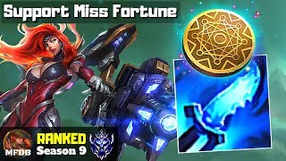 [9.8] Miss Fortune SUPPORT - League of Legends (Season 9)