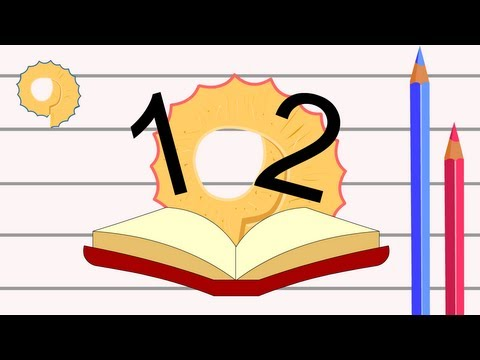 Limba engleză pentru copii - Cântecul cifrelor pentru copii