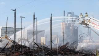 Clean up continues on Lemoyne lumber fire