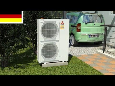 Mitsubishi Heizung-Set 7.5 Wärmepumpe Monoblock mit Hydromodul 14,0kW