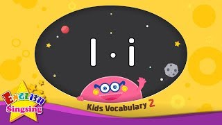 Kids vocabulary compilation ver.2 - Words starting with I, i - Learn English for kids