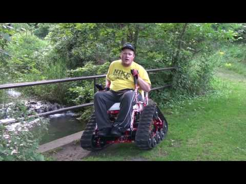 Action Trackchair Jeff at Camden State Park 1