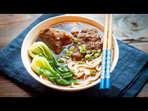 Beef Noodle Soup ---  Slow Cooker Recipe