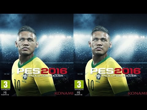PES 16 3D video half SBS by Mitch141 141's channel