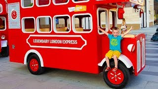 Wheels On The Bus - Nursery Rhymes song for Kids from Max and Nikita