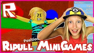 What's Wrong With My Face in Roblox Ripull Minigames?