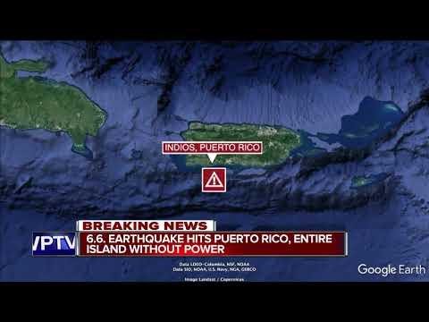 6.5 quake strikes Puerto Rico amid heavy seismic activity