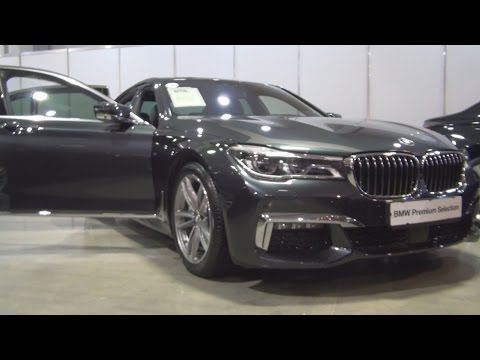BMW 730d xDrive (2016) Exterior and Interior in 3D
