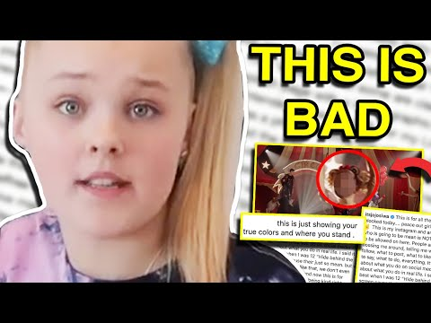 JOJO SIWA IS IN TROUBLE FOR THIS ...