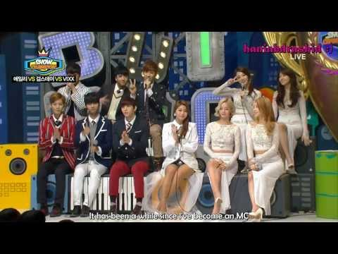 [ENG]140108 Show Champion - VIXX+Ailee+Girl's Day VS Talk Cut