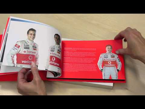 Creative Corporate Printed Gift - Vodafone McLaren Mercedes