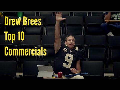 Drew Brees Top 10 Commercials