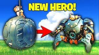 Muselk Plays The *NEW HERO* WRECKING BALL! [Overwatch]