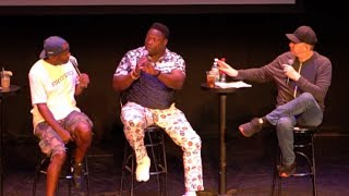 Warren Sapp Joins I Am Rapaport Live on Stage in Boston (Video)