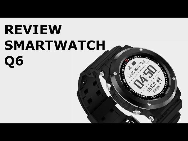 CONHEÇAM O SMARTWATCH Q6 (Review)