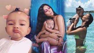 Kim Kardashian Flaunts 1 Year Old Daughter