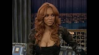 "Tyra Banks on ""Late Night with Conan O'Brien"" - 3/1/05"