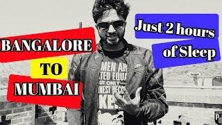 Bangalore to Mumbai with 2 hours of sleep | Day 1 - Belgaum | The Maharashtra-Goa Series