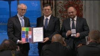 Die Europäsische Union erhält den Friedensnobelpreis?