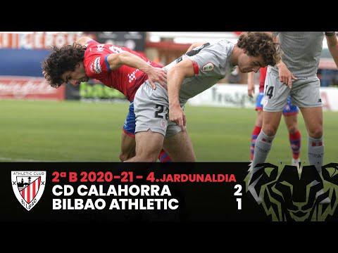 ⚽ Resumen I 2. Fasea – 4. J – 2ªDiv B I CD Calahorra 2-1 Bilbao Athletic I Laburpena