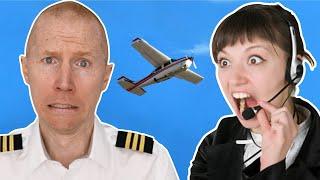 Air Traffic Control Yells at Lost Pilot | ATC vs. Pilots