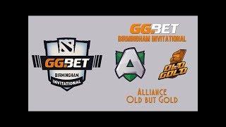 ESL One Birmingham GRAND-FINAL: Alliance vs. Old But Gold BO5