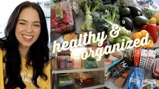 HEALTHY GROCERY HAUL & What's in my fridge/Pantry!