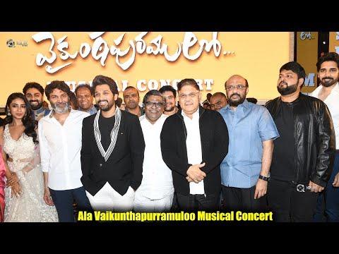 Ala-Vaikunthapurramuloo-Musical-Concert