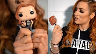 Becky Lynch unveils the Funko WWE Pop! figure you demanded