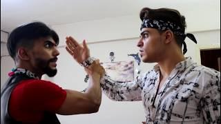 شاروخان الهندي طمبوزخان السوري || Mohammed and Rami ||     -