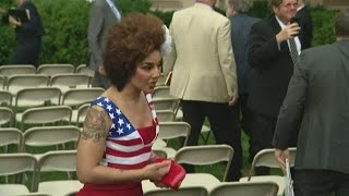 Joy Villa, Sebastian Gorka, reporter get in argument over fake news at White House | full video