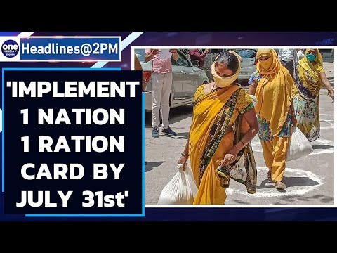 One Nation One Ration card: SC orders all states to implement scheme by July 31