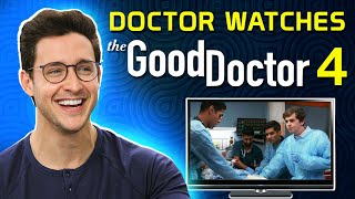 Real Doctor Reacts to THE GOOD DOCTOR #4 | Medical Drama Review