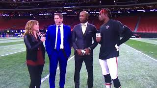 Falcons WR Julio Jones Monday Night Football Post-Game Interview
