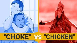 CHOKE VS CHICKEN - Google Trends Show