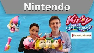 Nintendo Minute - Kirby and the Rainbow Curse Let's Clay!