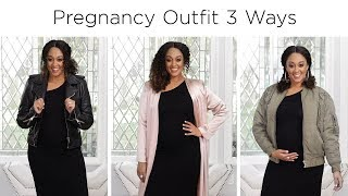 3 Cute Pregnancy Outfit Ideas | Quick Fix