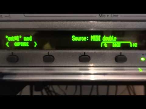 Eventide Eclipse et contrôleur MIDI externe