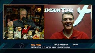 Mac Jones on the Dan Patrick Show (Full Interview) 12/8/20